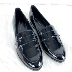 MARC FISHER Patent Leather Loafers